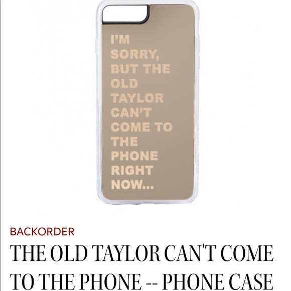 release date: e4273 3a293 Taylor Swift iPhone X Case